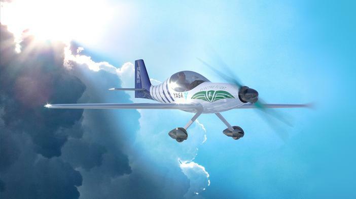 Flugzeuge: elektrisch gleiten über den Wolken