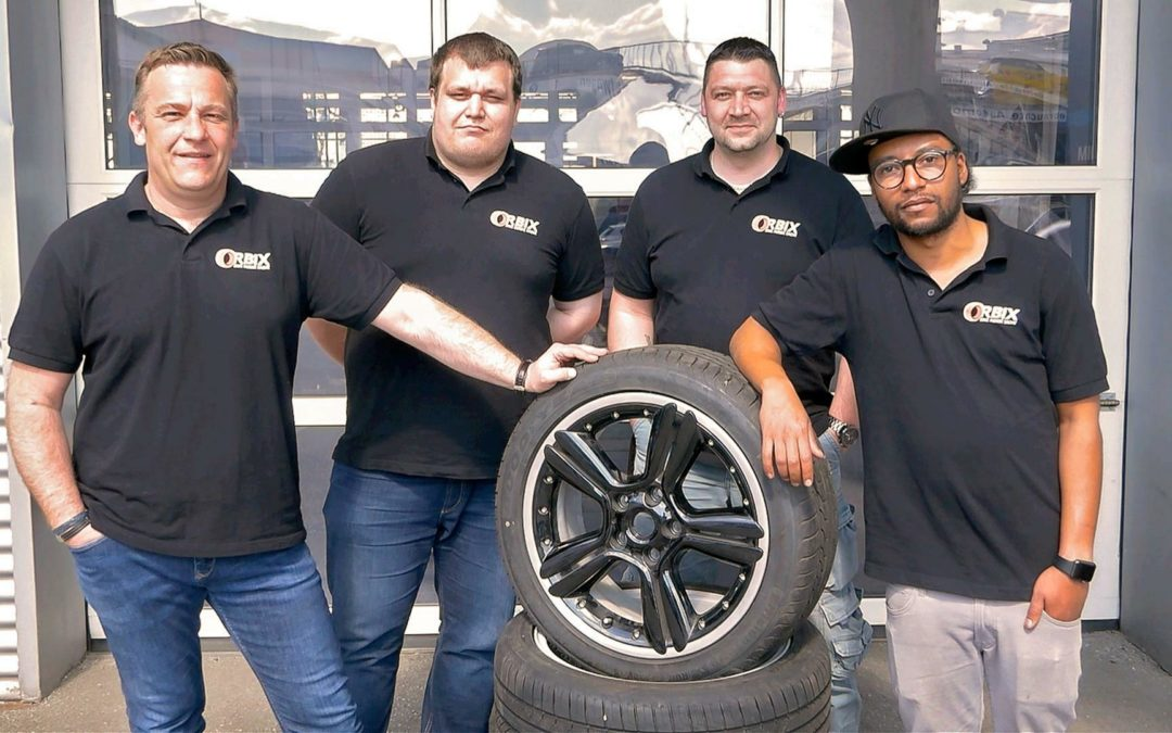Start-up mit Herz für gebrauchte Reifen