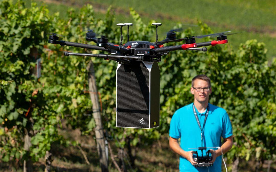 Wein: Drohnen statt Pestizide