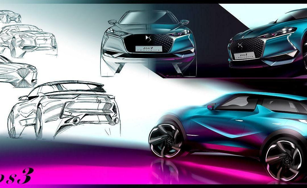 Design: Von der Skizze zum fertigen Auto