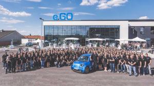 Belegschaft E.Go MObile in Aachen