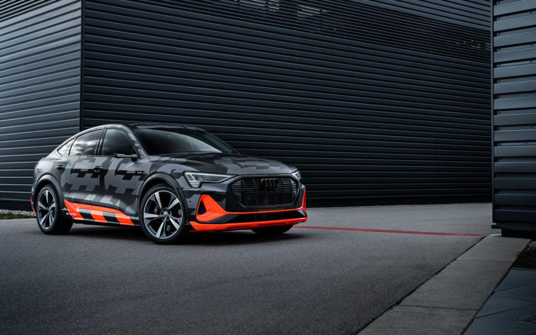 Audi e-tron: Zeitweise wird S ganz sportlich