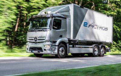 Mercedes startet Serienfertigung des e-Actros