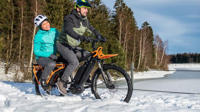 E-Bike plus: Elektro-Räder für Schwertransporte