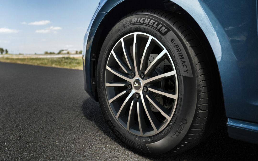 Michelin e.Primacy-Reifen soll E-Autos weiter bringen