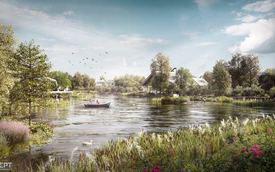 Obamas Öko-Berater plant nachhaltiges Dorf – in den Niederlanden
