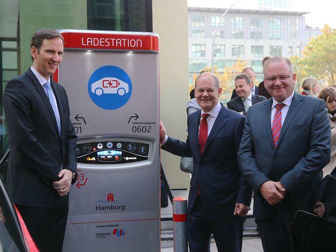 Ladesäulen: Hamburg ist Deutschlands Elektrohauptstadt