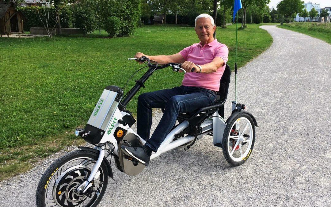 E-Dreirad: Mobil durch die Rente
