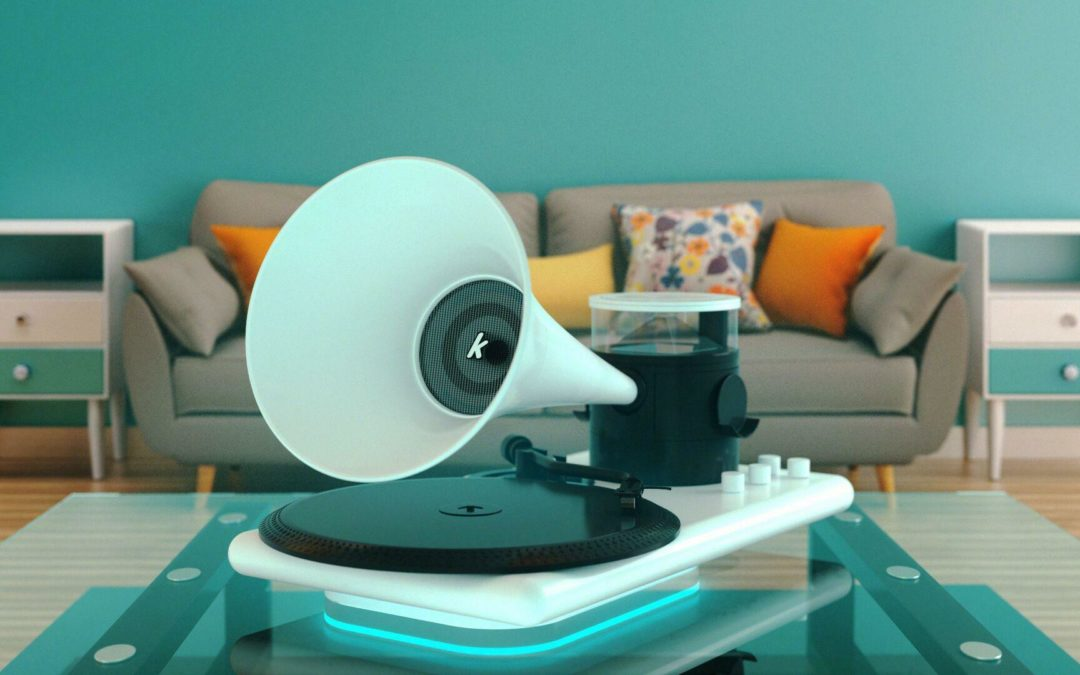 Kozmophone: Grammofon mit holografischem Display