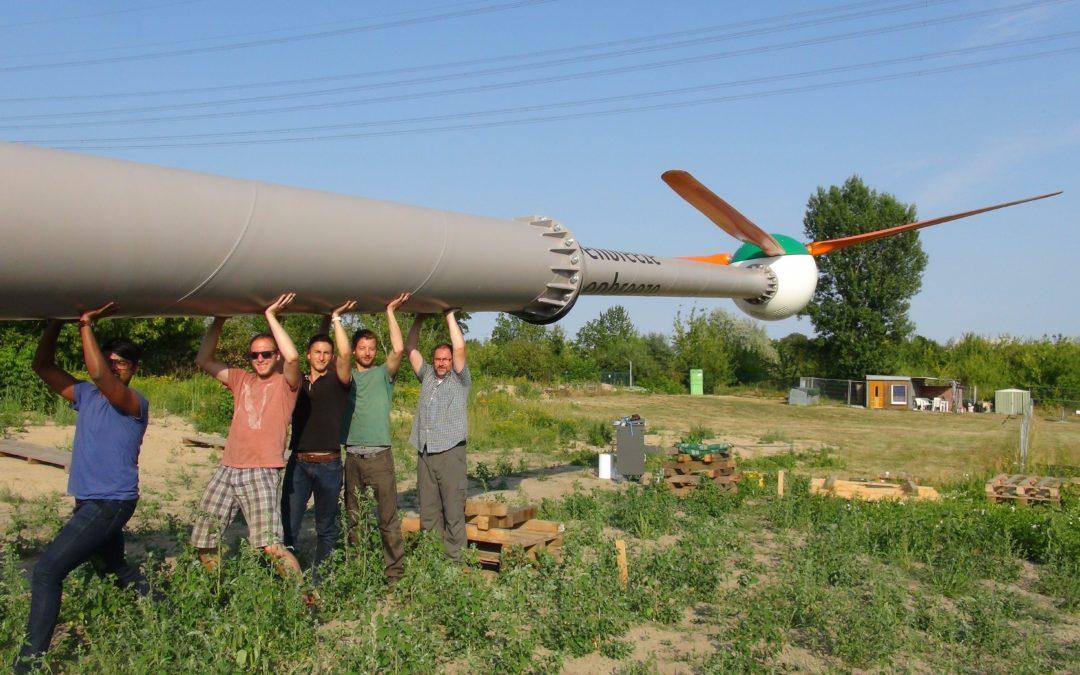 Start-up baut Windräder für die Stadt