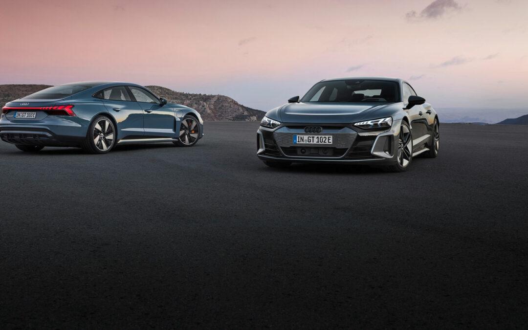 Audi enthüllt den e-tron GT – und verrät den stolzen Preis