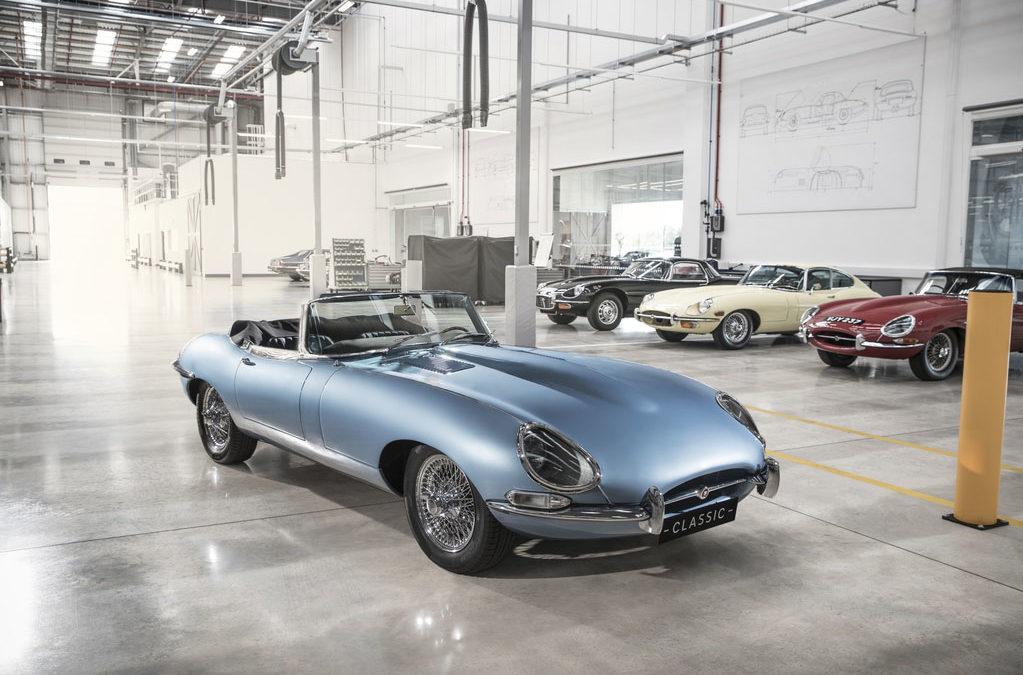 """Jaguar """"E-Type Zero"""" zurück in die Werkstatt"""