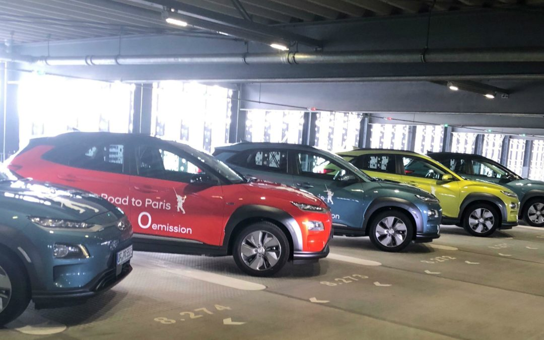So lief die Fahrt im Hyundai Kona Elektro nach Paris