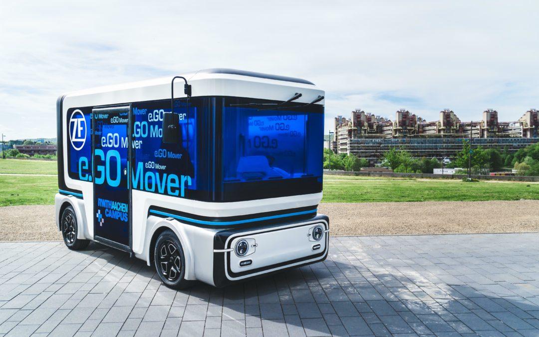 ZF und E.go produzieren autonomen Minibus