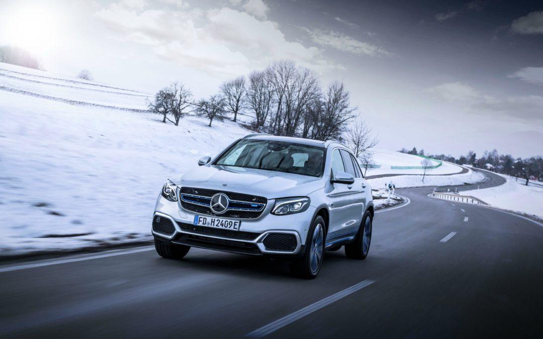 GLC F-Cell im Test: Mercedes mit Brennstoffzelle und Batterie