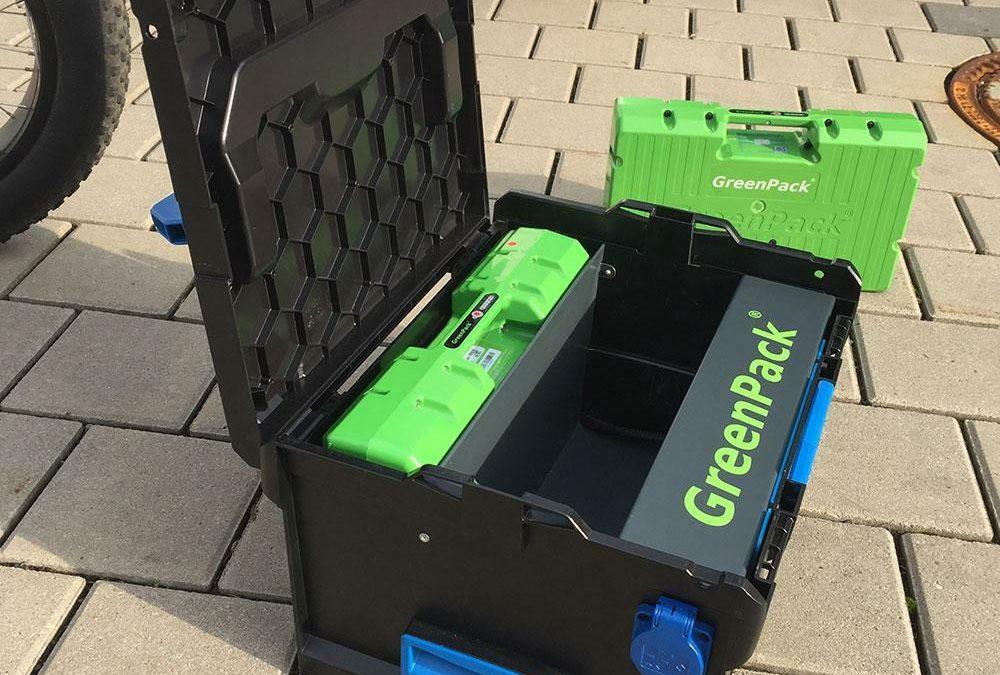 Greenpack: Mobilität aus dem Koffer