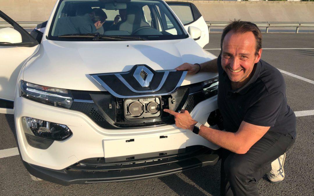 Renault K-ZE: Preisbrecher an der Ladesäule