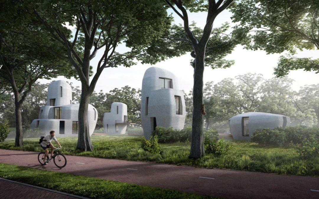 Eindhoven: Häusersiedlung aus dem 3D-Drucker