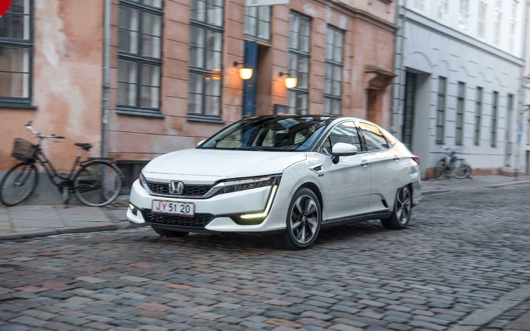 Hondas Brennstoffzellen-Auto Clarity im Härtetest
