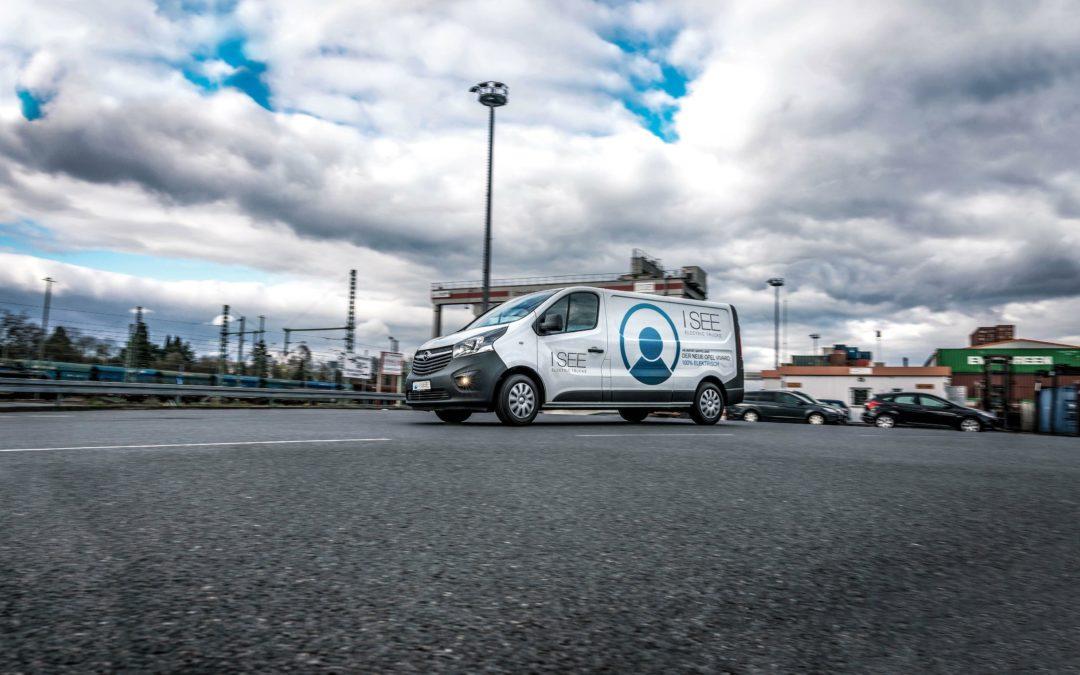 I SEE: Elektro-Lieferwagen für die Innenstadt