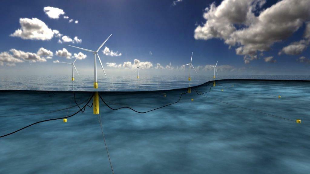 Erster schwimmender Windpark geht in Schottland ans Netz