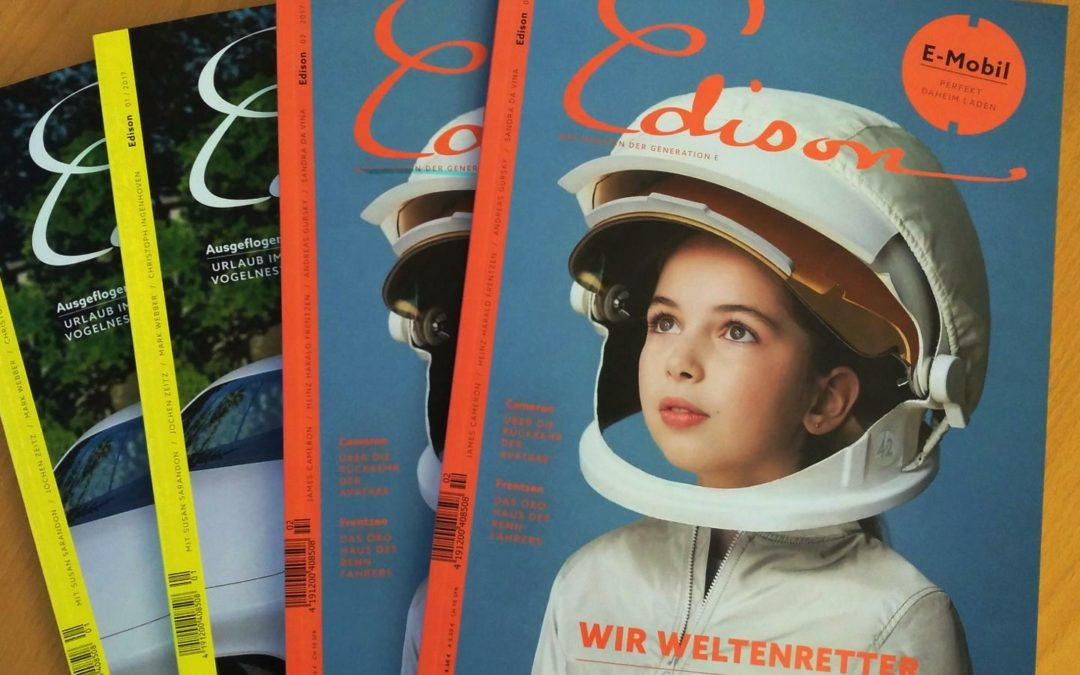 2. Ausgabe: Weltenretter am Kiosk