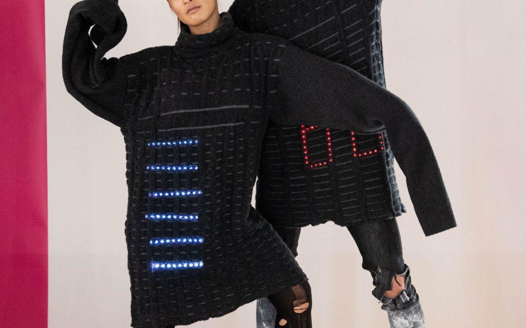 Interknitting: Sprechende Elektro-Kleidung