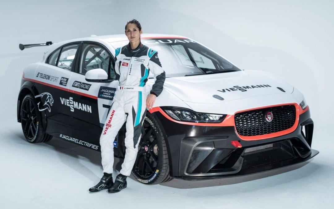 E-Trophy: Im Elektro-Jaguar über die Rennstrecke