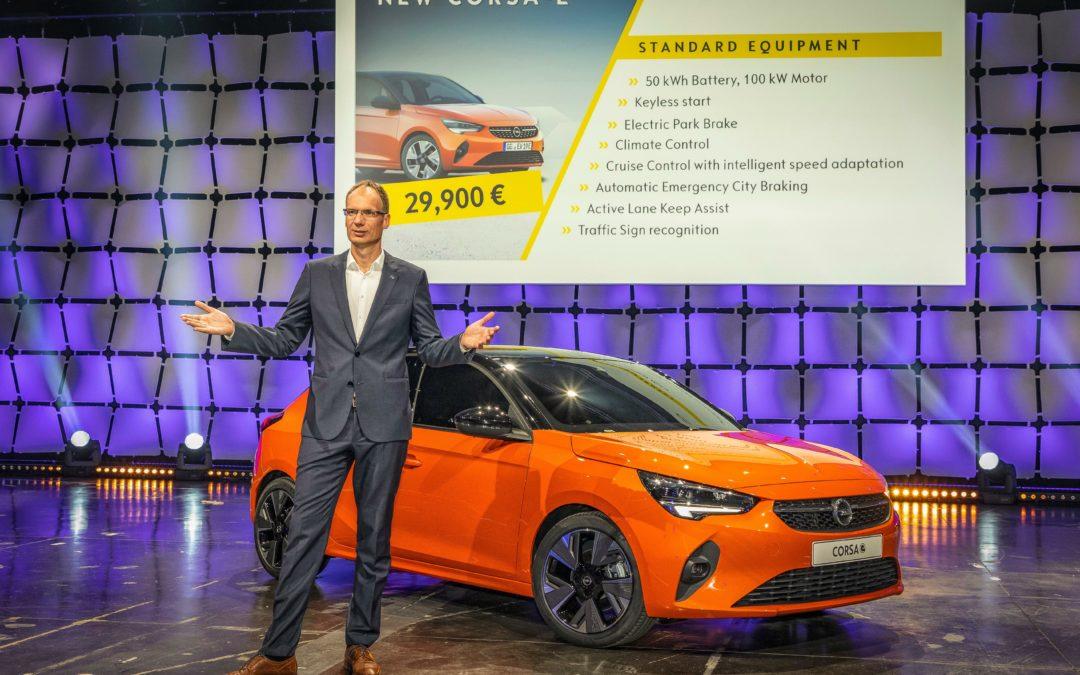 Opel bietet den E-Corsa zum Kampfpreis an