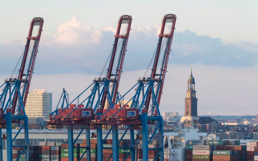 Positive Bilanz: 5G-Mobilnetz im Hamburger Hafen stabil