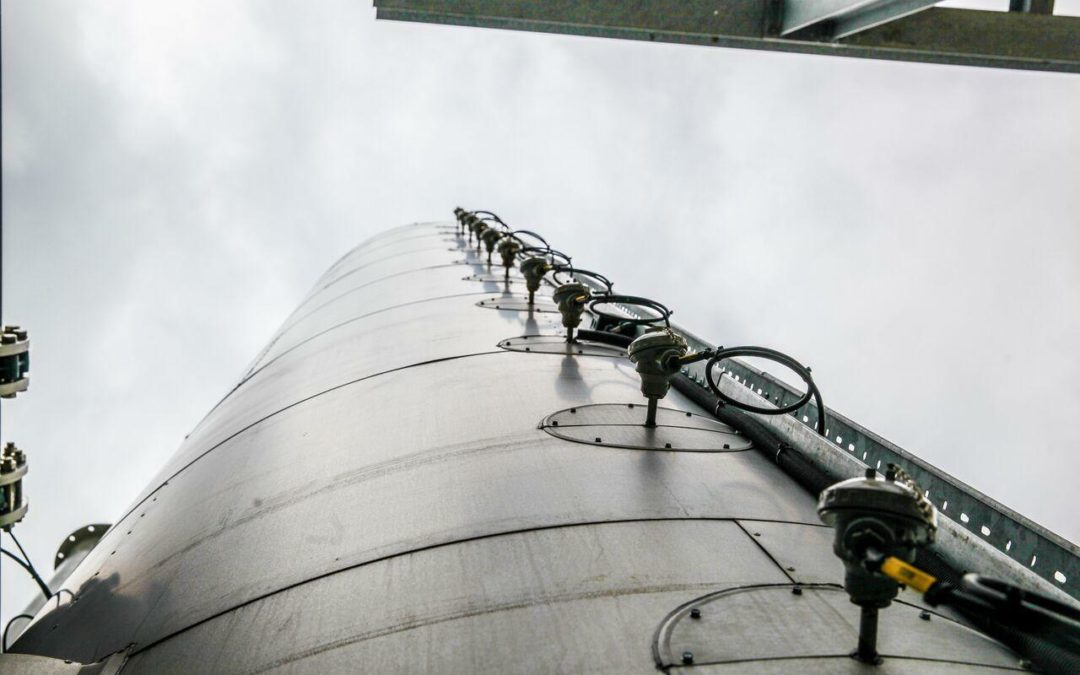 Weltweit erster kryogener Energiespeicher
