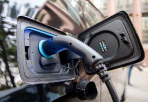 Laden eines Elektroautos