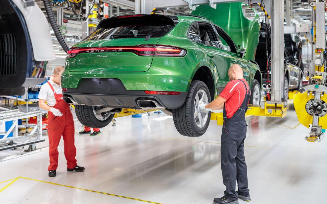 Porsche: Countdown zum vollelektrischen Macan