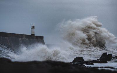 Klimawandel: Extremwetter machen die Stromversorgung unsicherer