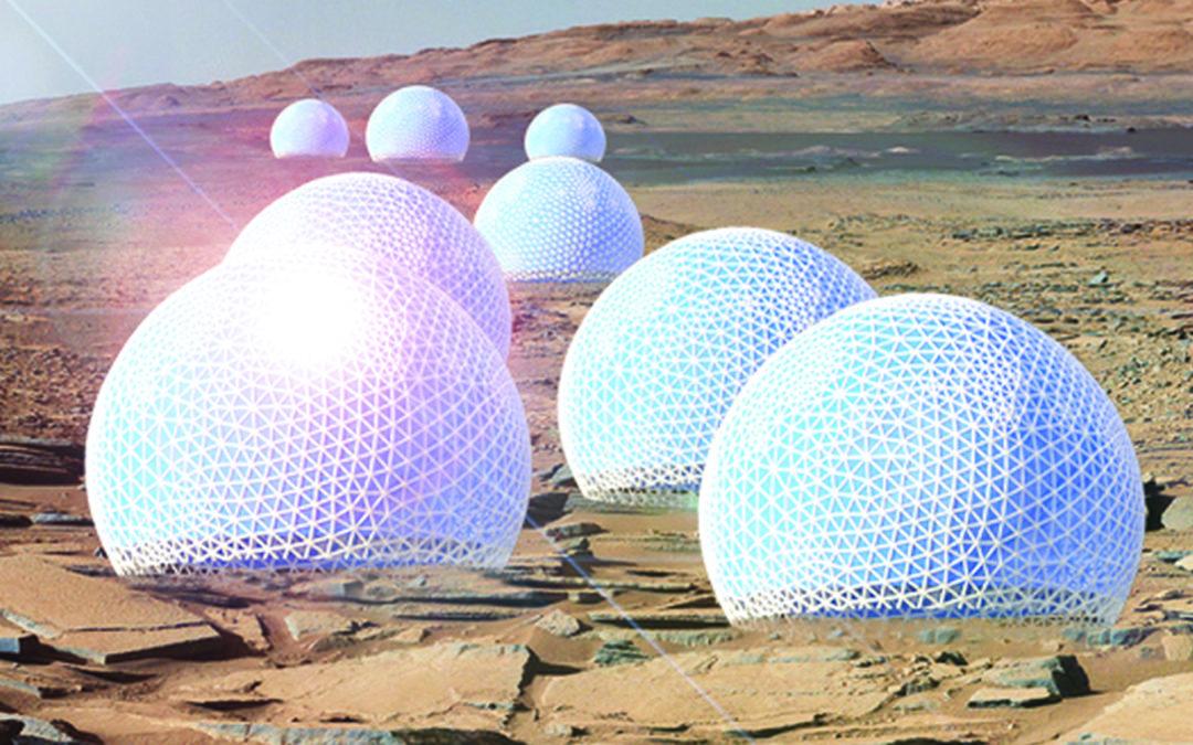 Kuppeln für den Mars: So könnten wir den roten Planeten besiedeln