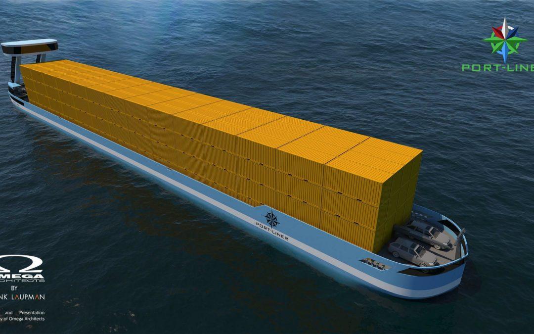 Niederländer bauen Containerschiff mit Elektromotor
