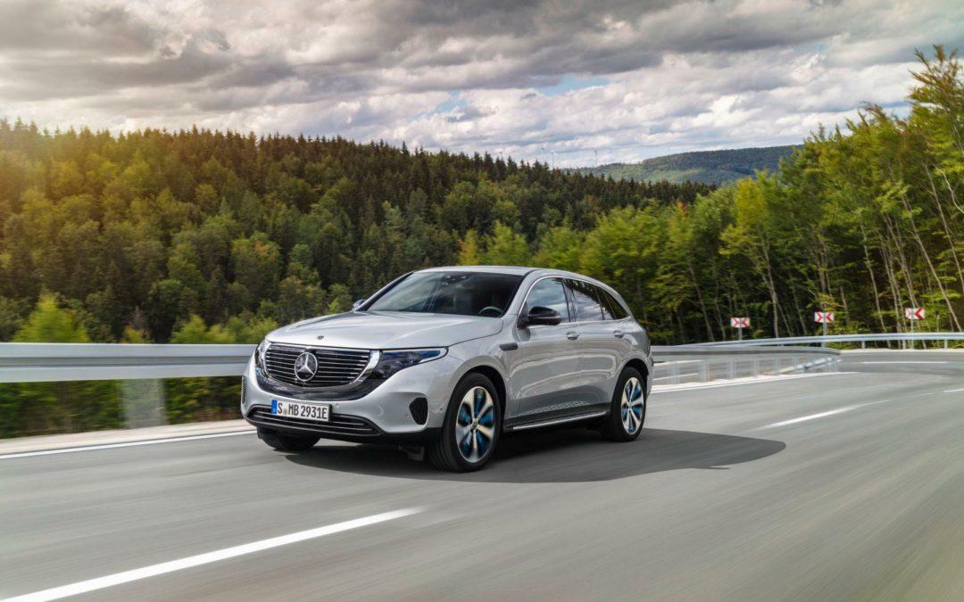 Mercedes EQC: Stern unter Spannung
