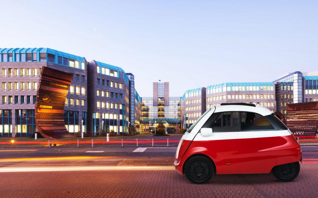 """Die Rückkehr der Isetta – als E-Mobil """"Microlino"""""""