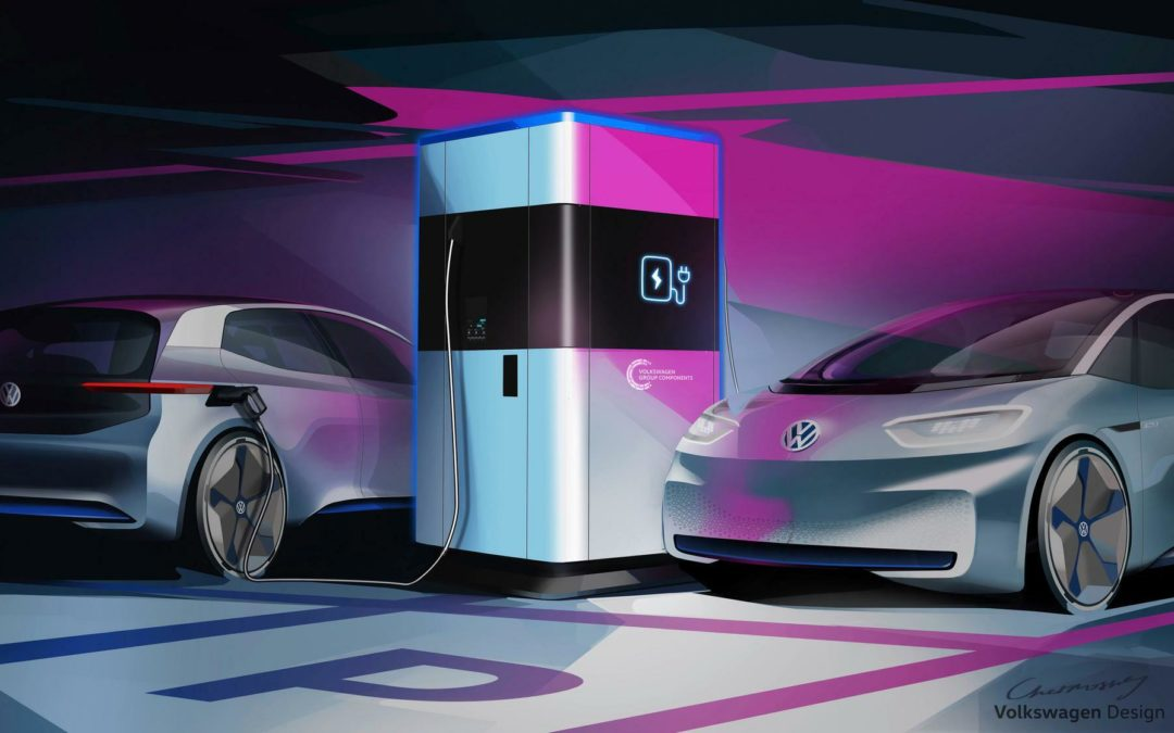 Powerbank fürs Elektroauto: VW baut mobilen Schnelllader