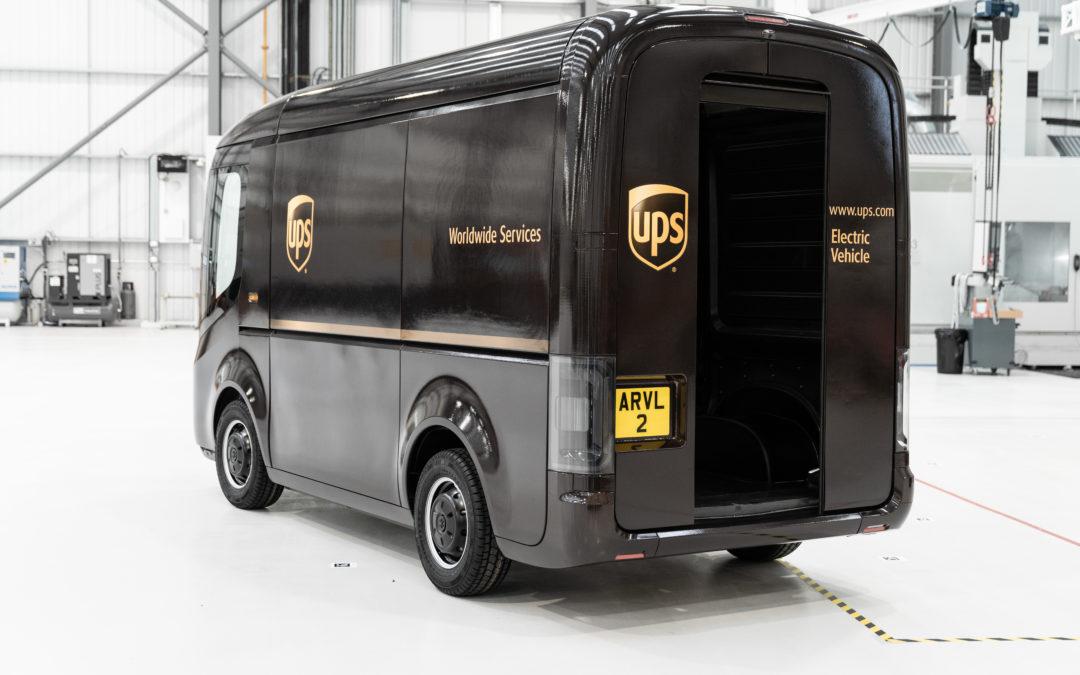 RobinTV E-News: UPS bestellt 10.000 Elektrolieferwagen