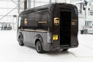 Elektrischer Lieferwagen Arrival für UPS
