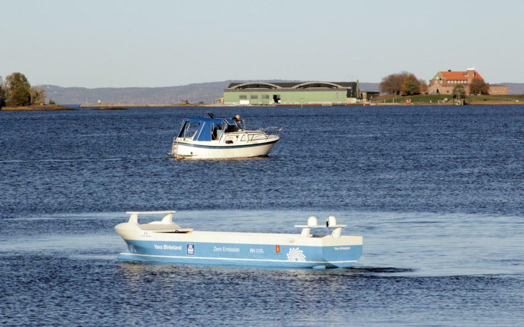 Norwegen: Autonomes Containerschiff soll 2022 in Betrieb gehen