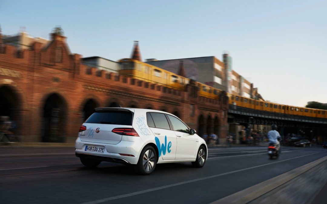 """We Share"": VW startet Elektro-Carsharing in Berlin"