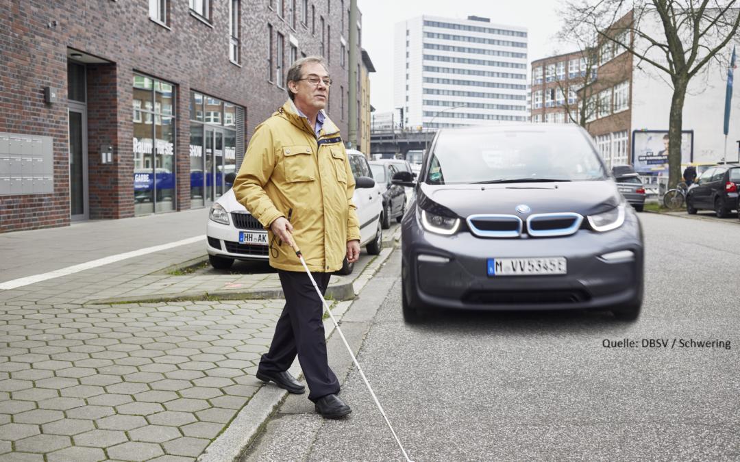 Sind Elektroautos etwa zu leise?