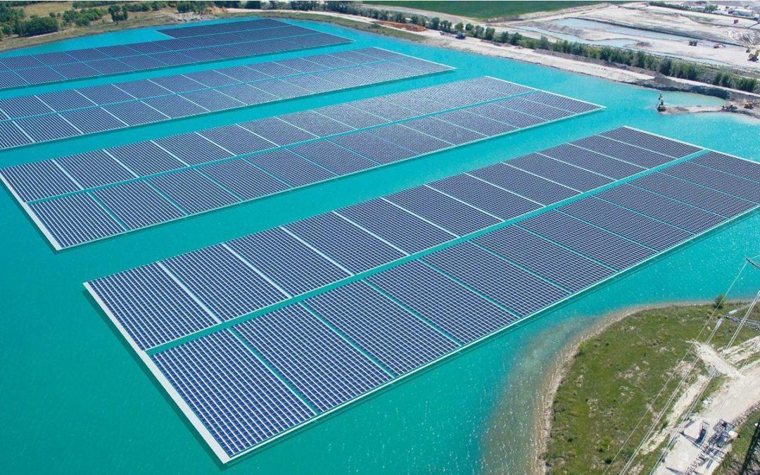 O'Mega: Europas größte schwimmende Solarfarm