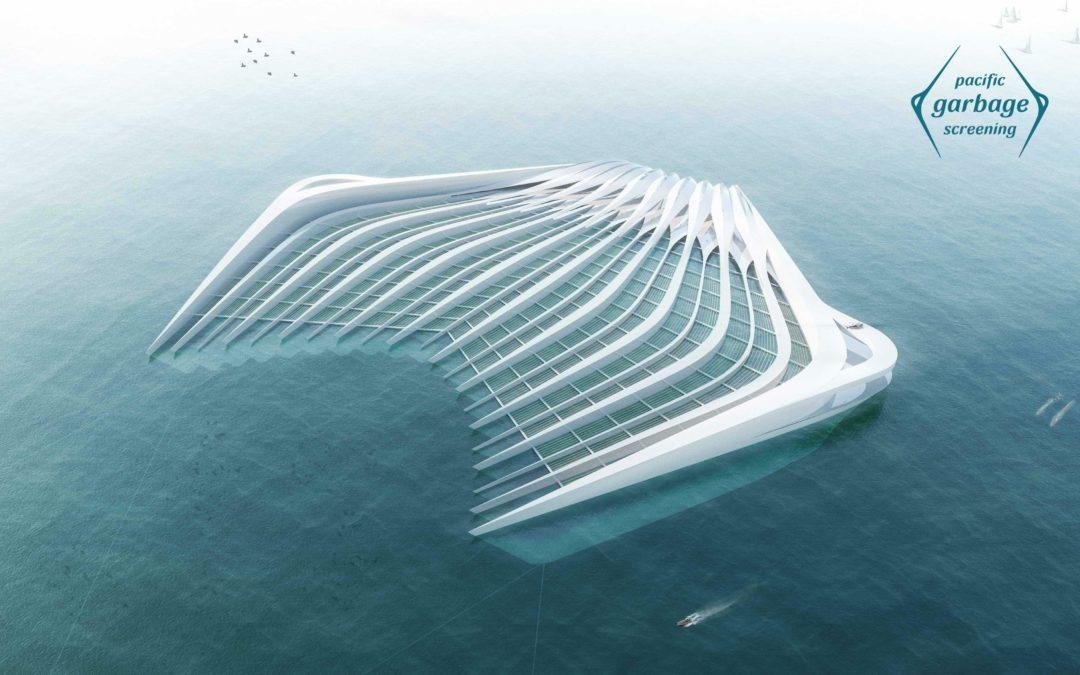 Schwimmende Plattform gegen Plastikmüll
