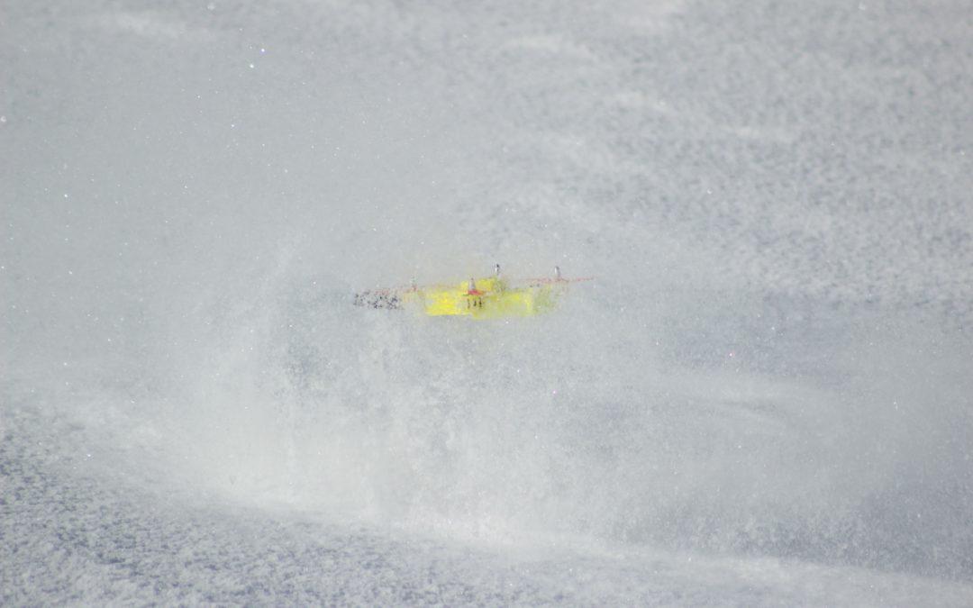 Spürdrohne findet verschüttete Skifahrer