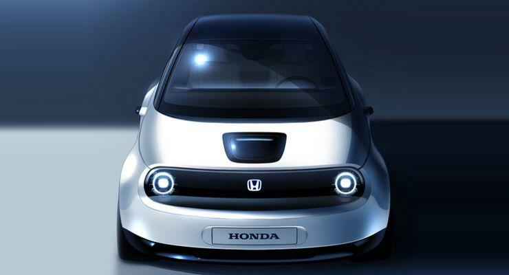 RobinTV E-News: Honda zeigt Bilder des Urban EV