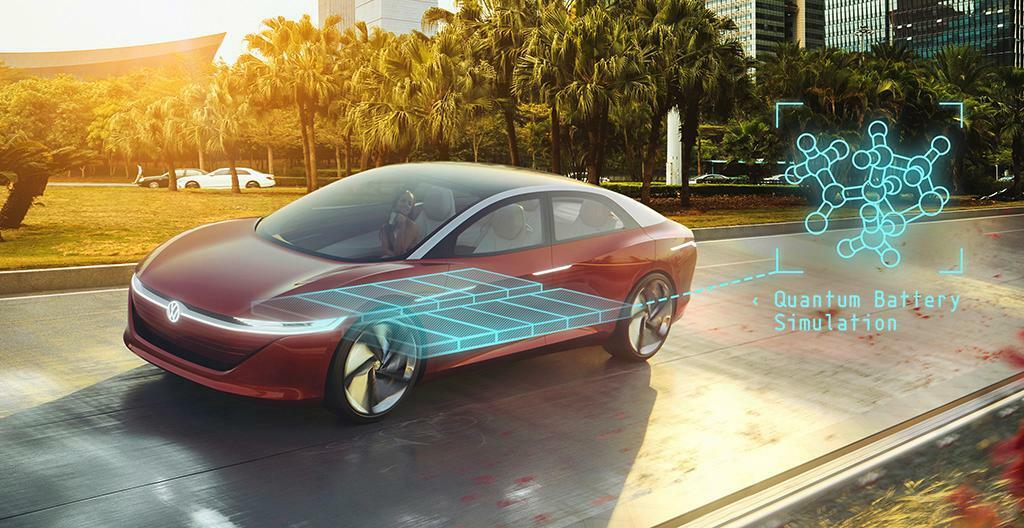 VW: Mit Quanten zur passenden Batterie