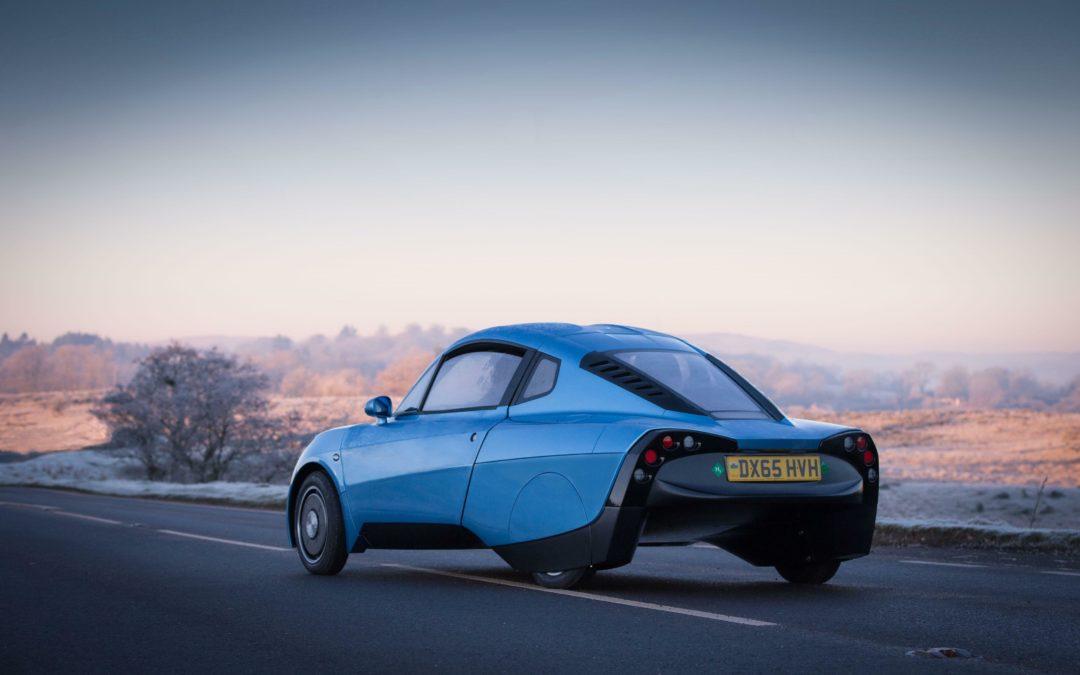 Riversimple Rasa: Superleichtes Wasserstoff-Auto aus Wales